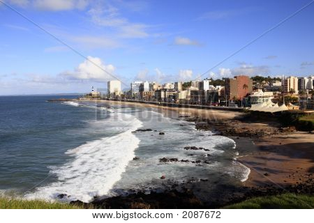 Barra Beach  Salvador Of Bahia