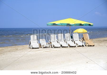 Rest On A Beach In Jurmala