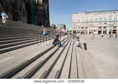 Hohen Dom St. Peter und Marien, Köln, Deutschland