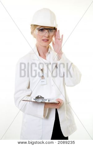Lady Science Engineer