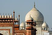 Roof Top Of Taj Mahal