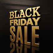 Black Friday Sale Gold Inscription Design Template, Black Friday Sale Banner,  Discount Sign,  Novem poster