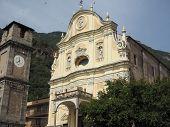 Parish Church In Quincinetto poster