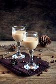 Irish Cream Coffee Liqueur poster