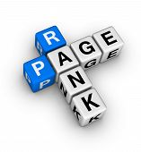 stock photo of blue white  - page rank  - JPG