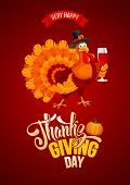 Thanksgiving Day Greeting poster