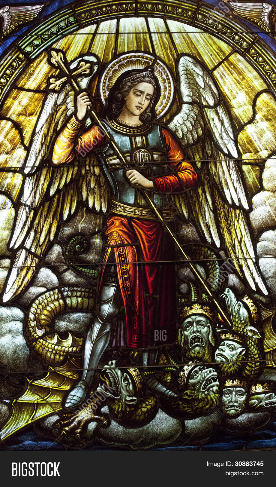 Archangel Michael Stained Glass