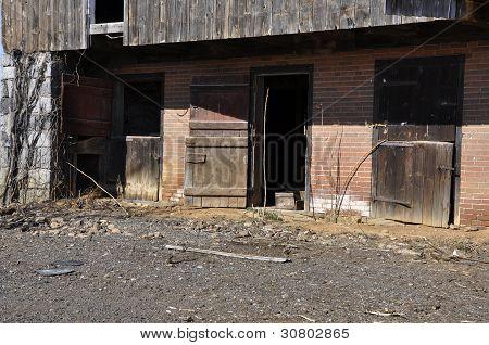 Old Worn Barn