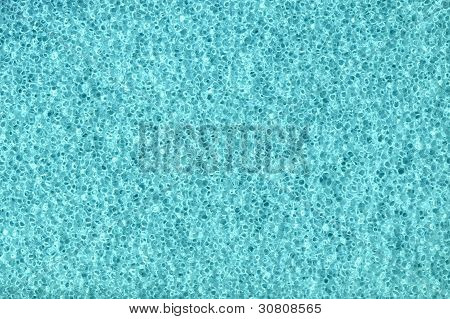 Blue Foam Background