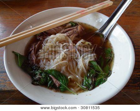 Stew Pork Leg Noodle