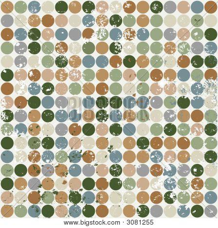 Circle Pattern With Grunge