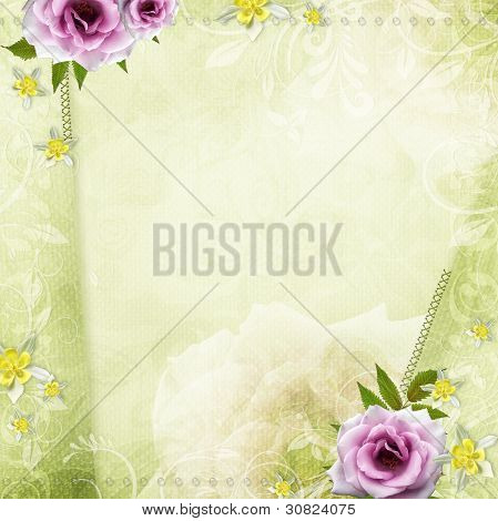 Beautiful Wedding Background