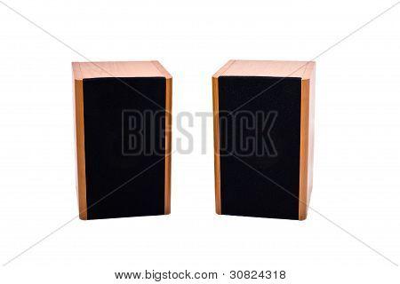 Two Audio Speakers