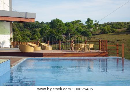 Swimming Pool On Summer Vacation