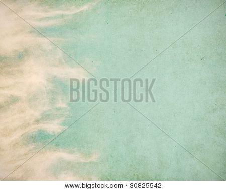 Wispy Grunge Clouds