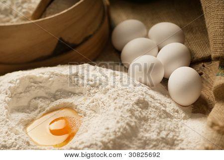 Egg Volcano