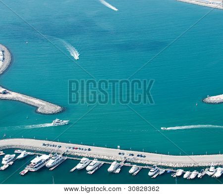 Palm Jumeirah water area