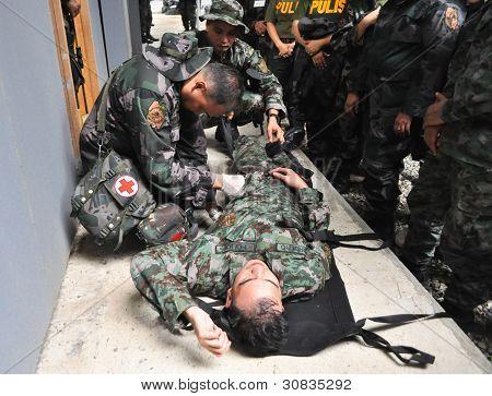 Paramédico polícia formação