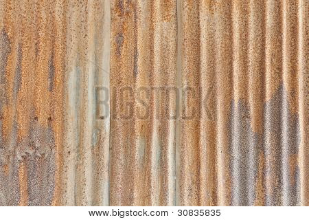 The Rusty Metal Sheet