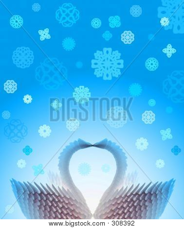 Love Winter Swans