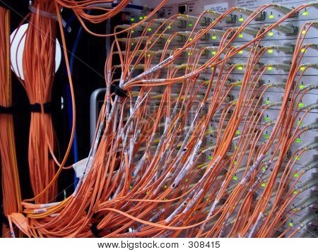 Computer Cluster Cabling