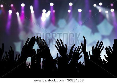 Fãs de concerto
