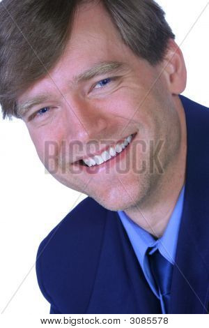 Businessman With A Great Smile