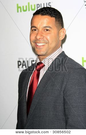 LOS ANGELES, CA - MAR 9: Jon Huertas at The Paley Center For Media's PaleyFest 2012 honoring 'Castle' at the Saban Theater on March 9, 2012 in Beverly Hills, California