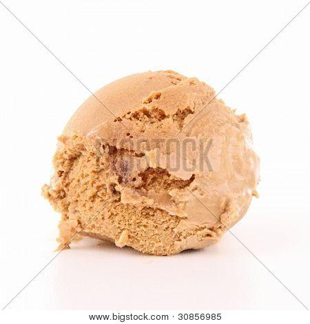 isolado colher de sorvete