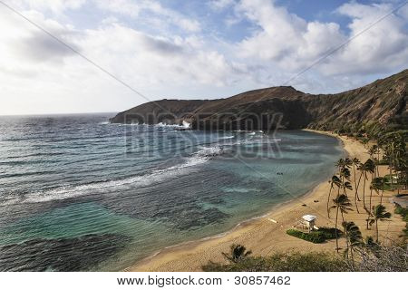 Hanauma Bay Overview Oahu Hawaii