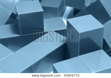 Blue Cubic Objects