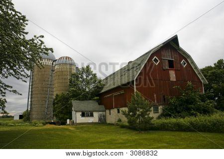 Antiguo granero norte de Minnesota de Platón