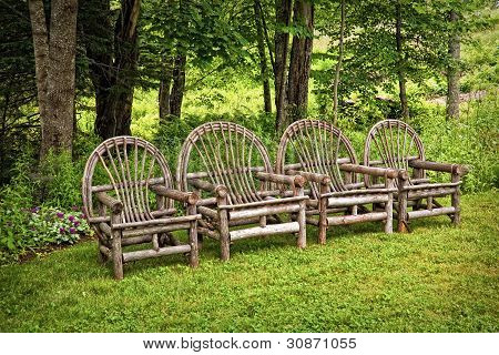 Willow Garden Chairs