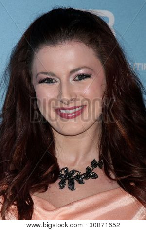 LOS ANGELES - MAR 10:  Rachel Reilly arrives at the Bold and Beautiful 25th Anniversary Party at the Perch Resturant on March 10, 2012 in Los Angeles, CA