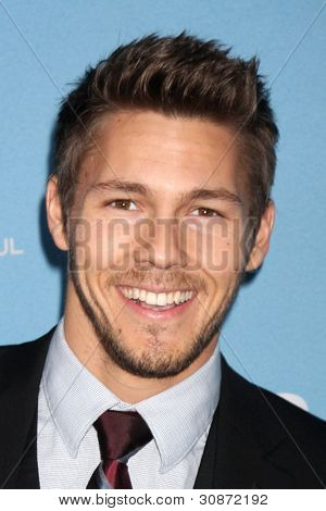 LOS ANGELES - MAR 10:  Scott Clifton arrives at the Bold and Beautiful 25th Anniversary Party at the Perch Resturant on March 10, 2012 in Los Angeles, CA