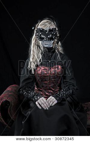 Gothic Vampire Girl