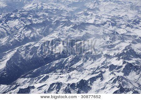 Alps Aerial Photo