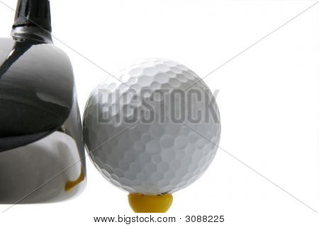 Golf-Teeing Off