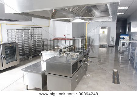 new catering kitchen