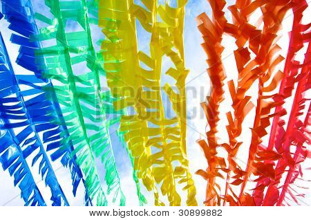 Colorful Plastic Strip