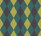 Seamless Geometric Pattern. Seamless Abstract Rhombus Geometrical Background. Infinity Geometric Pat poster