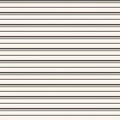 Horizontal Stripes Seamless Pattern. Simple Vector Lines Texture. Black And White Abstract Geometric poster