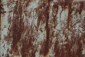 Metal Rusty Texture Background Rust Steel. Industrial Metal Texture. Grunge Rusted Metal Texture, Ru poster