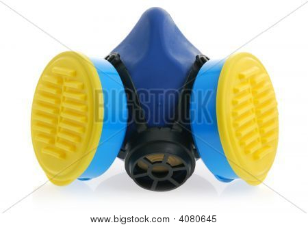 Respirator With Reflection