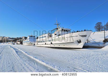 Finland.  Lappeenranta In Winter
