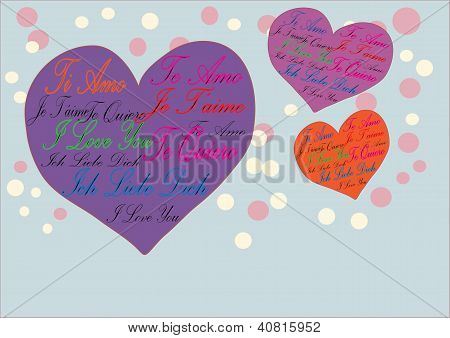 Greeting Love Card