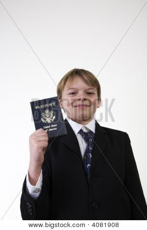 Showing His Passport