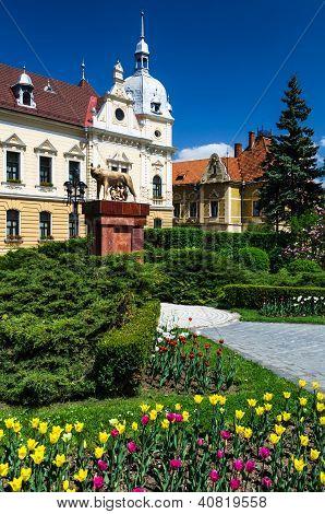 Citihall von Brasov, Rumänien