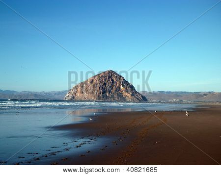 Morro rock and beach