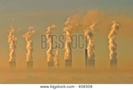 Smog industrial